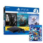 SONY PS4主機1TB MEGA PACK同捆送遊戲(女神3_月夜熱舞)