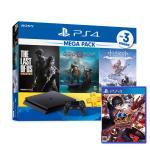SONY PS4主機1TB MEGA PACK同捆送遊戲(女神5_星夜熱舞)